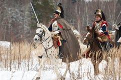 Cavalry riders Stock Image