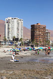 Cavancha Beach in Iquique, Chile Royalty Free Stock Image