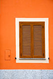 Cavaria varese italy abstract  window      wood venetian Royalty Free Stock Images