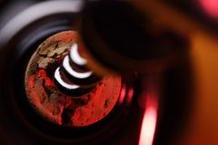 Cavaturaccioli in bottiglia Fotografie Stock