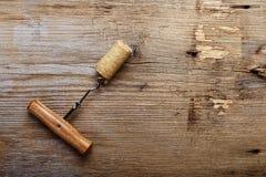 Cavaturaccioli con il tappo del vino Immagine Stock Libera da Diritti