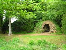 Cave. In Wiltshire, near Calne stock images