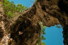Cave. Amazing Nature Phenomenon stock photography