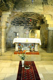 Cave of the Annunciation Royalty Free Stock Image