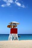 Cave Beach, Montego Bay, Jamaïque de docteur image libre de droits