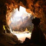 Cave  Buddhism  Phetchaburi Thailand Stock Images