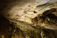 Inside cave   Royalty Free Stock Photo