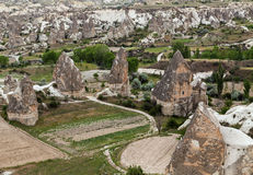 Cave Cappadocia landscape mountain Stock Photo