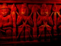 Cave Carvings Stock Images