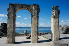 Cave of Catullus,Italy Royalty Free Stock Image