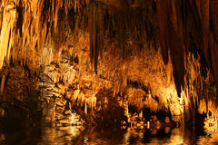 Cave caverns Royalty Free Stock Photo