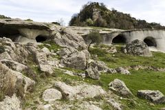 Free Cave Caves In Calabria With Landscape Rupestrian Royalty Free Stock Photos - 115097108