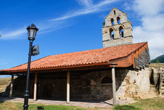 Cave church. A cave church, Cantabria. Spain Royalty Free Stock Photography