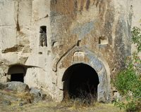 Cave Church in Ihlara Valley (Cappadocia) Stock Photography