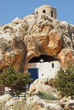Cave church, Protaras, Cyprus Royalty Free Stock Images