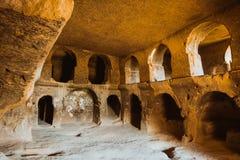 Cave church in Selime Cappadocia Turkey Stock Image