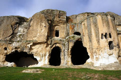 Cave-church in Turkey. Royalty Free Stock Photo