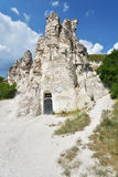 Cave church in Voronezh region, Russia Stock Photos