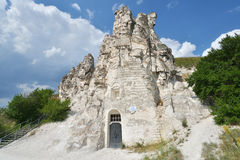 Cave church in Voronezh region, Russia Stock Image