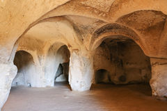 Cave Church in Zelve Valley, Cappadocia Royalty Free Stock Images