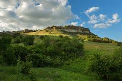 Cave City in Bakhchysarai Raion, Crimea Stock Photo