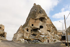 Cave city, Cappadocia Royalty Free Stock Images