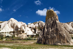 Cave city in Cappadocia. Scene cave city in Cappadocia, Turkey Stock Images