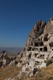 Cave city in Cappadocia, Turkey Royalty Free Stock Photo