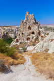 Cave city in Cappadocia Turkey. Nature background Royalty Free Stock Photos