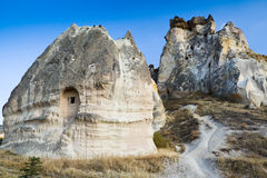 Cave city in Cappadocia Royalty Free Stock Images