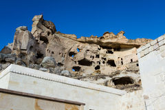 Cave city in Cappadocia. Turkey Royalty Free Stock Photos