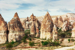 Cave city in Cappadocia Turkey. Cave city in Cappadocia. Beauty world Turkey Royalty Free Stock Photography