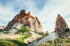 Cave city in Cappadocia Turkey. Cave city in Cappadocia. Beauty world Turkey Royalty Free Stock Image