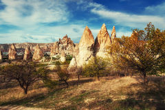 Cave city in Cappadocia Turkey. Cave city in Cappadocia. Beauty world Turkey Stock Photos