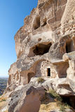 Cave city in Cappadocia, Turkey Royalty Free Stock Image