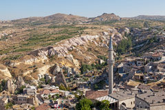Cave city in Cappadocia, Turkey Royalty Free Stock Photography