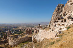 Cave city in Cappadocia, Turkey Stock Photo