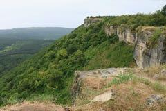 Cave city Chufut-Kale Bakhchisaray Royalty Free Stock Photography