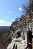 Cave city Mangup-Kale Stock Photos