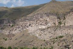 Cave city of Vardzia Royalty Free Stock Image