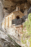 Cave of Covadonga Royalty Free Stock Photography