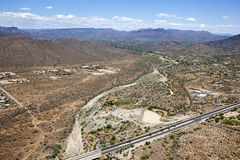 Cave Creek Wash Stock Photo