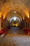 Cave d'Arkadi Monastery, Crète photos libres de droits