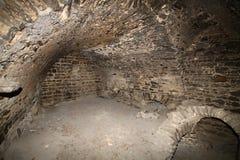 Cave de château Photographie stock