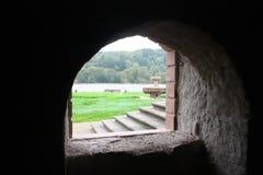 Cave de château dans l'Eifel Photographie stock