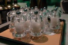 Cave de sel de restaurant photo libre de droits