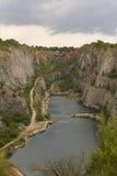 Cave dell'America nella repubblica ceca Fotografie Stock