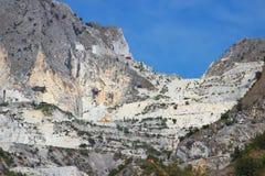 Cave di marmo bianche immagini stock