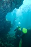 Cave Divers Stock Photography