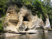 Cave on the Dordogne Royalty Free Stock Image